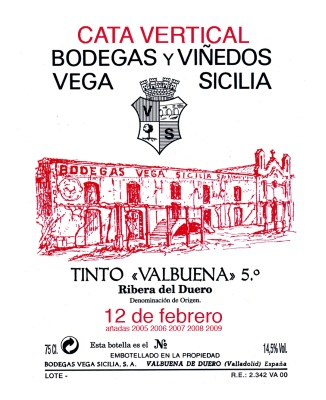 Cata Vertical Vega Sicilia - Valbuena  - Quiero Delicatessen - Villena (1)