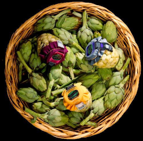 cesta verduras Caprichos del Paladar Quiero Delicatessen Villena