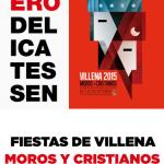 Fiestas de Villena – Moros y Cristianos en plato y copa (Parte 2)