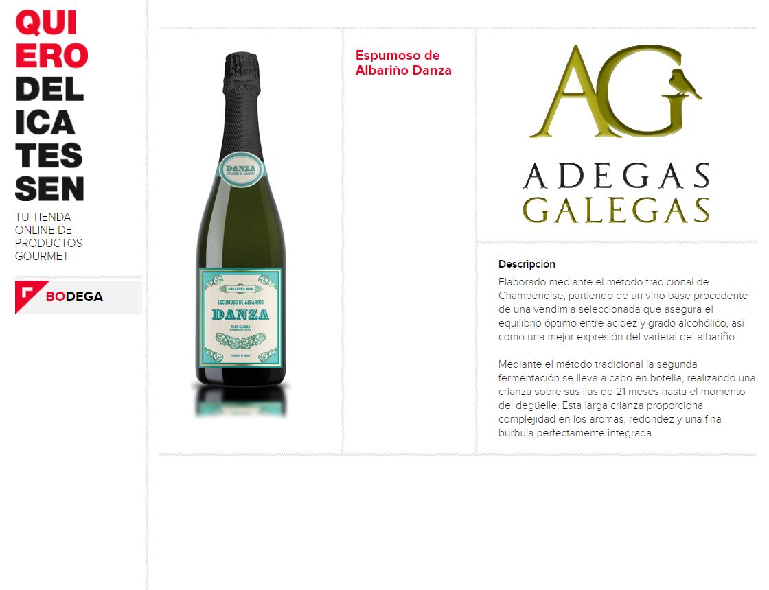 adegas galegas - vino - vinos - quiero - delicatessen