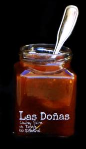 envase con mermelada de las doñas mermeladas