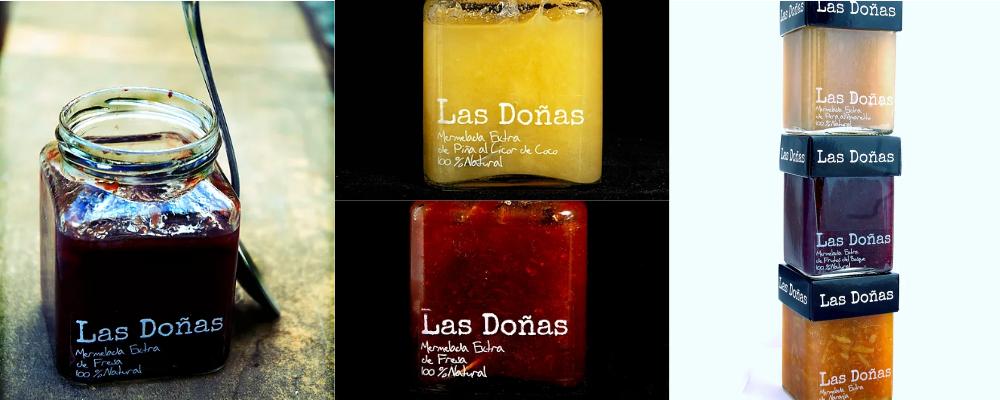 Collage con imagenes de las doñas mermeladas
