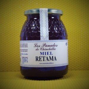 Fotografía donde se ve un bote de miel. MIEL LOS PANALES DE CHINCHILLA - MIEL - QUIERO DELICATESSEN VILLENA - ALICANTE - MIEL VILLENA - MIEL ALICANTE
