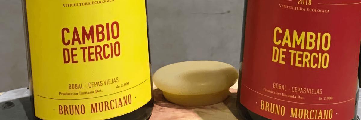 En la imagen una botella de la bodega. Vinos Bruno y Jose Luis Murciano - Vinos en Quiero Delicatessen - Villena - Alicante - Vino - Vinos - Bobal