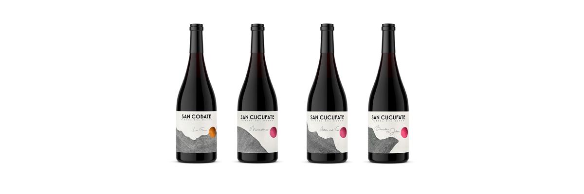 Fotografía de los vinos San Cobate