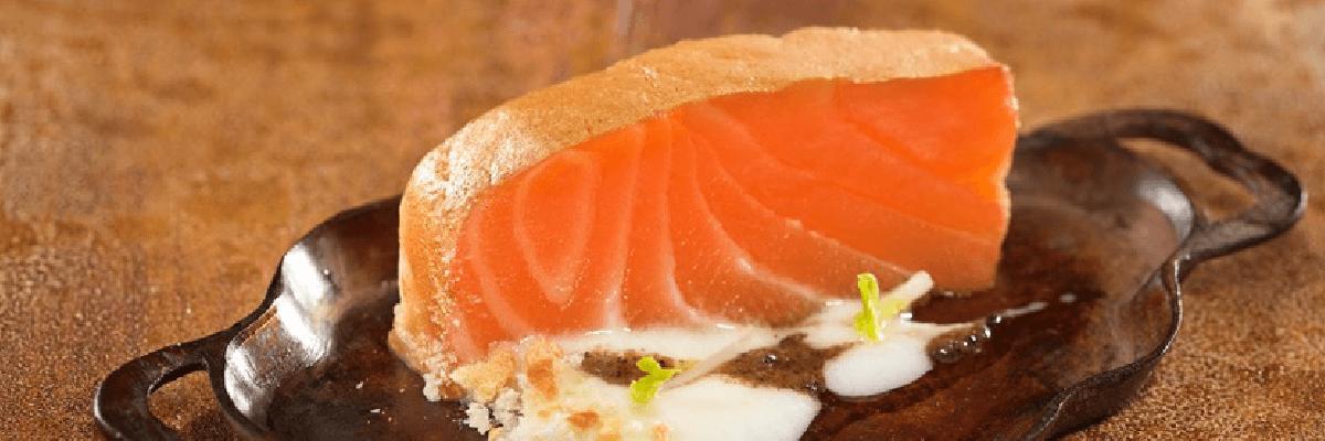 Fotografía de un plato de salmon ahumado Benfumat. En Quiero Delicatessen salmon ahumado Benfumat - Salmon - ahumado - villena - alicante - benfumat