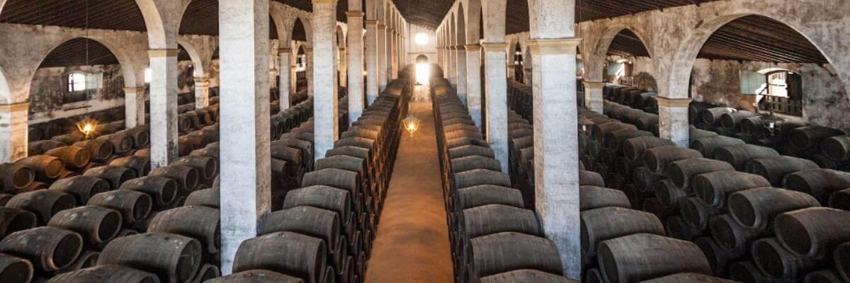 Fotografía de una bodega - vinos fortificados - vinos generosos - vinos de jerez - quiero delicatessen - villena - alicante